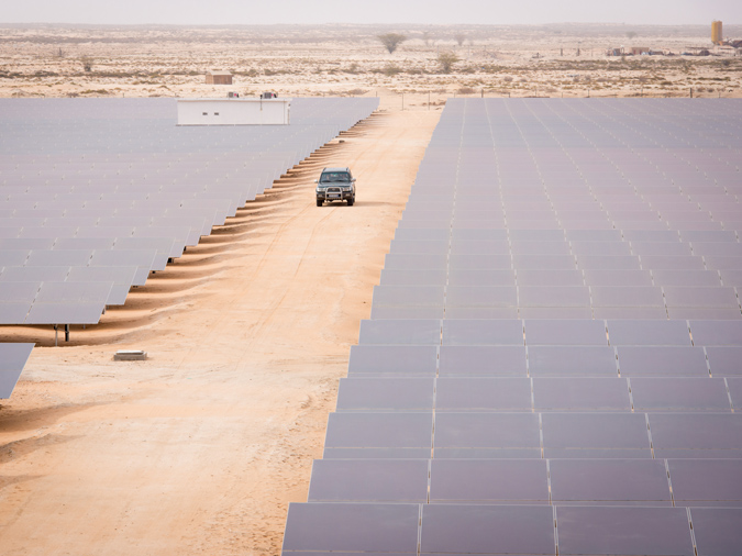 Harnessing the sun in Mauritania