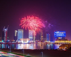 Celebrate New Year's Eve on Al Maryah Island