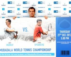 Mubadala World Tennis Championship 2012