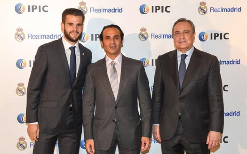 IPIC & Real Madrid - His Excellency Khadem Al Qubaisi meets the players