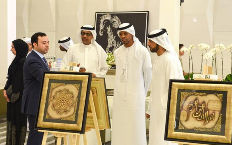 IPIC Hosts a calligraphy exhibition in IPIC Lobby