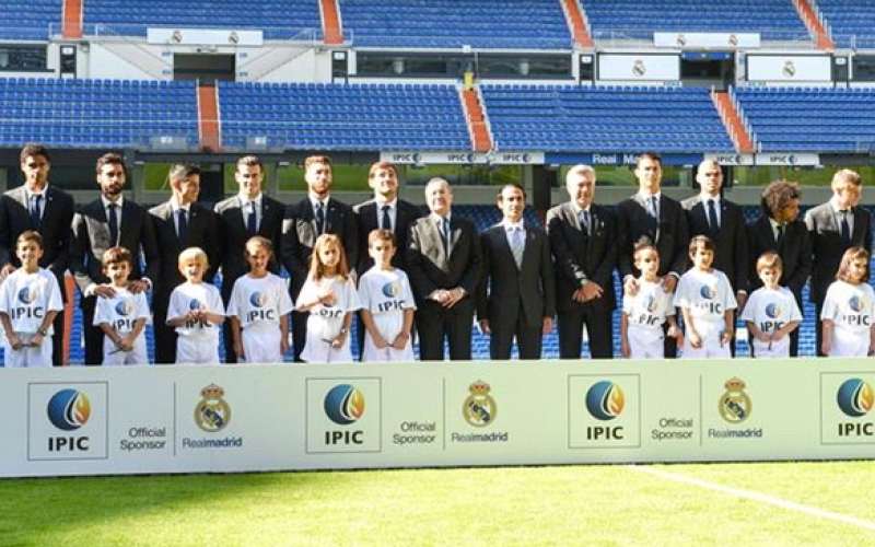 IPIC & Real Madrid - Real Madrid Player Escort Presentation