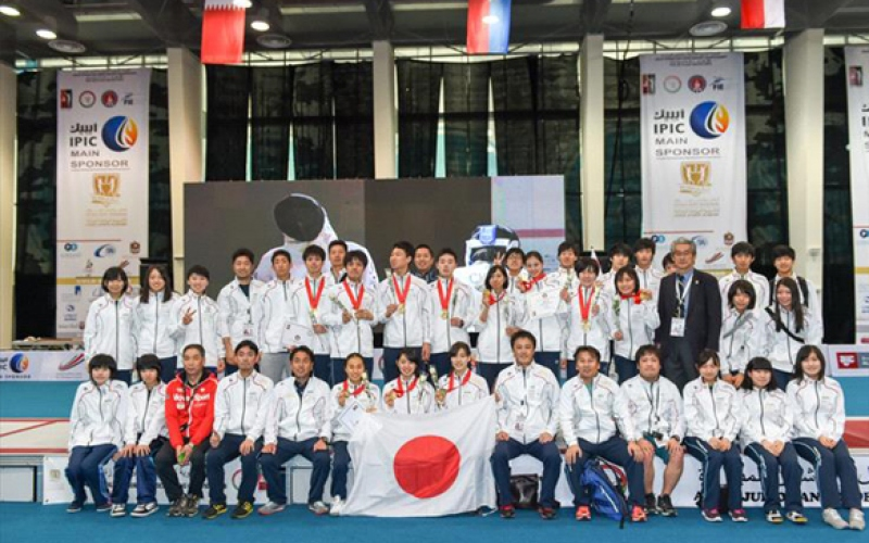 Junior & Cadet Asian Fencing Championship 2015