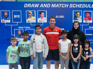 MWTC draw signals new season of youth tennis activities in Abu Dhabi