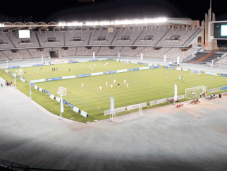 The road to the final continues - knock out day in the Mubadala Football Tournament