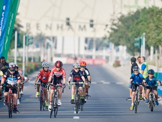 Pedalling to healthy lifestyles at the Mubadala Community Cycle Race