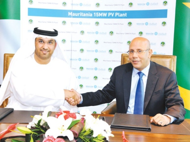 Masdar to Develop 15 MW Solar Plant in Mauritania