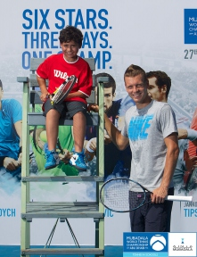 Tennis Superstar Thomas Berdych Launches Community Initiatives as Abu Dhabi Buil