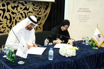 Abu Dhabi Education Council and Mubadala Development Company Sign Landmark Agreement to Strengthen Alliance on STEM Education