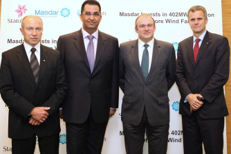 Masdar Invests in £1.5bn Offshore Wind Farm;