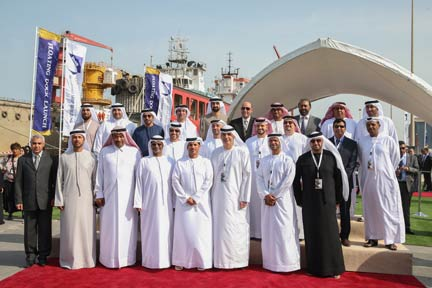 Abu Dhabi Ship Building inaugurates dry dock with official ceremony