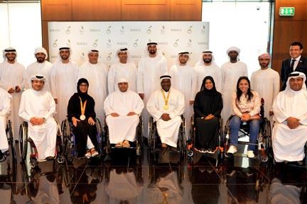 Mubadala signs MoU with UAE Disabled Sports Federation