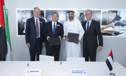 Boeing and Mubadala Sign New Agreement Expanding UAE Aerospace Manufacturing