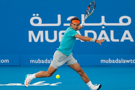 Rafael Nadal to serve up more thrills alongside tournament newcomer Milos Raonic at the 8th Mubadala World Tennis Championship