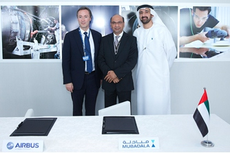 Airbus and Mubadala expand strategic partnership with new cooperation agreement