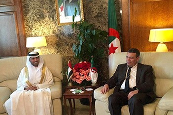 Minister of Energy in an official visit to Algeria