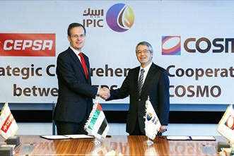 IPIC Portfolio Companies CEPSA and COSMO Announce Strategic Partnership