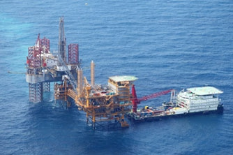 Mubadala Petroleum starts production at the Ruby gas field in Indonesia
