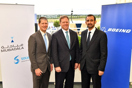Mubadala and Solvay join forces to drive next phase of aerospace development
